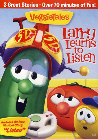 VeggieTales: Larry Learns To Listen DVD Movie