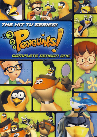 3 2 1 Penguins: Complete Season One (1) DVD Movie