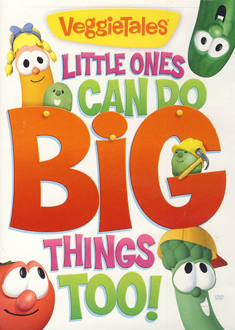 VeggieTales: Little Ones Can Do Big Things Too DVD Movie