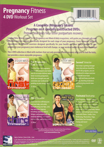 Pregnancy Fitness (4 DVD Workout Set) (Boxset) DVD Movie