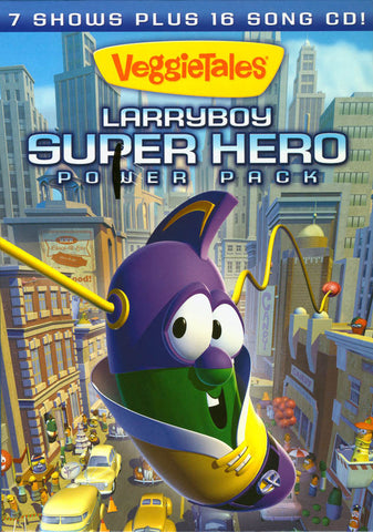 Larryboy - Superhero Power Pack (Boxset) DVD Movie