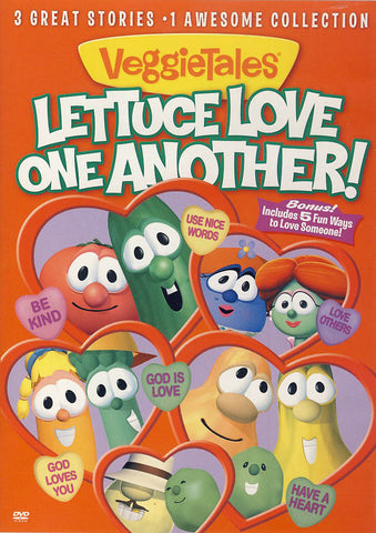 VeggieTales - Lettuce Love One Another DVD Movie