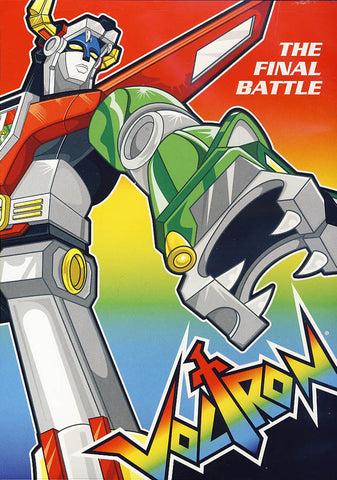 Voltron - The Final Battle DVD Movie