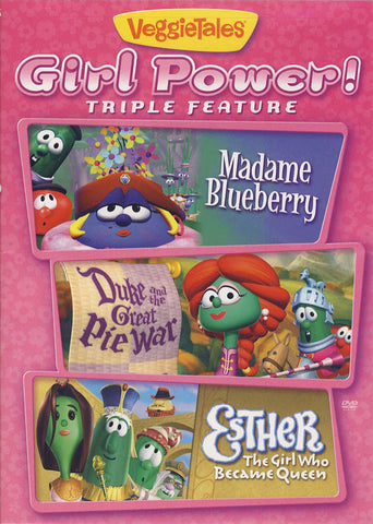 VeggieTales - Girl Power Triple Feature DVD Movie