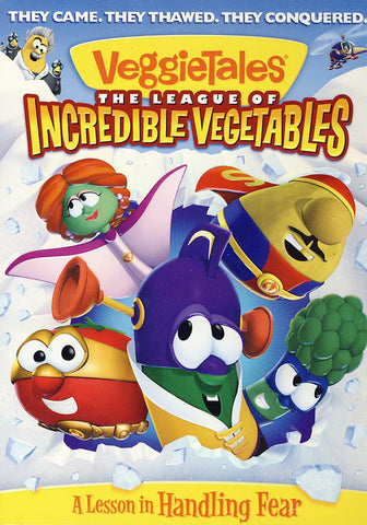 VeggieTales - The League of Incredible Vegetables DVD Movie