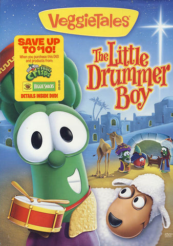 Veggie Tales - The Little Drummer Boy DVD Movie