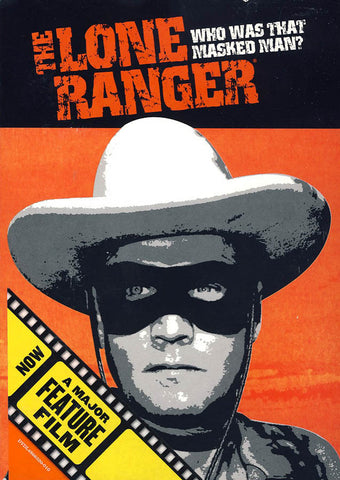 The Lone Ranger: Who Was That Masked Man? DVD Movie