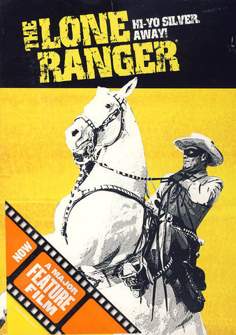 The Lone Ranger: Hi-Yo Silver, Away! DVD Movie