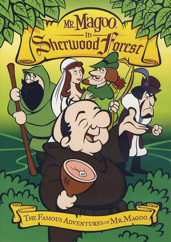Mr. Magoo in Sherwood Forest DVD Movie