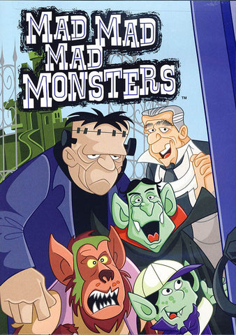 Mad, Mad, Mad Monsters DVD Movie