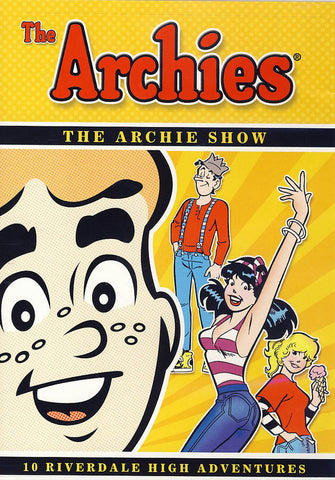 The Archies - The Archie Show - 10 Riverdale High Adventures DVD Movie