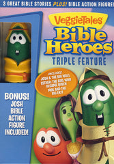 VeggieTales: Bible Heroes Triple Feature (Bonus:Josh Bible Action Figure)(Boxset)