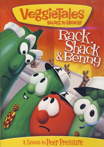 VeggieTales: Rack, Shack and Benny DVD Movie
