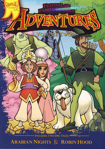 Festival of Family Classics Adventures Volume Two (2) DVD Movie