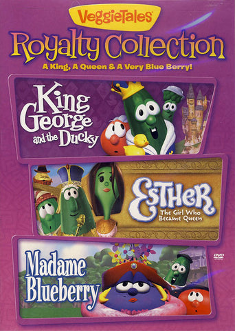 VeggieTales - Royalty Collection - A King, A Queen, And A Very Blue Berry DVD Movie