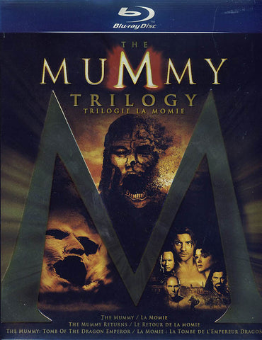 The Mummy Trilogy (Bilingual)(Blu-ray) (Boxset) BLU-RAY Movie