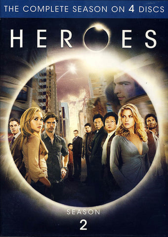 Heroes: Season 2 (Boxset) (Keepcase) DVD Movie
