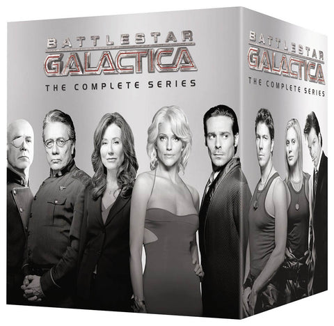 Battlestar Galactica - The Complete Series (Boxset) DVD Movie