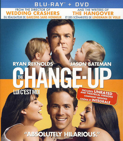 The Change-Up (Blu-ray+DVD)(Bilingual)(Blu-ray) BLU-RAY Movie