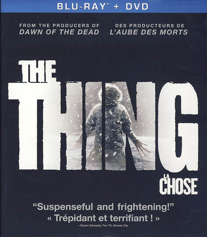 The Thing (2010)(Blu-ray+DVD)(Bilingual)(Blu-ray) BLU-RAY Movie