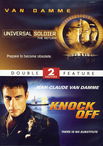 Universal Soldier: The Return / Knock Off (2 Movies Double Feature) (Limit 1 copy) DVD Movie