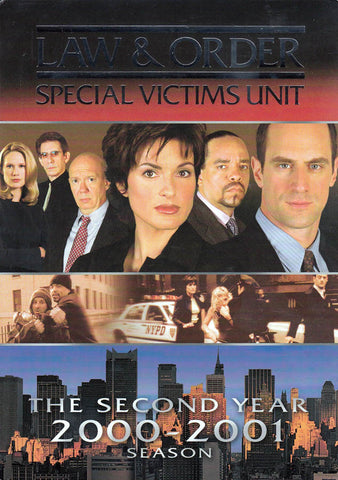 Law & Order - Special Victims Unit - The Second Year (2000-2001) Season (Boxset) DVD Movie