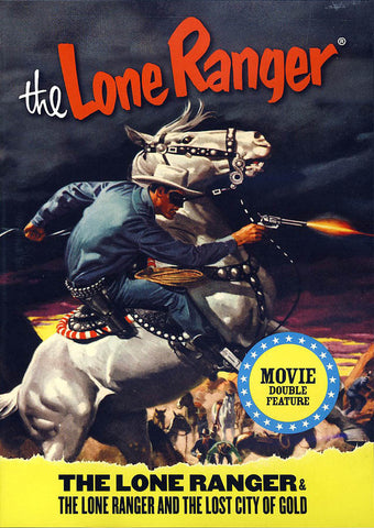 The Lone Ranger Double Feature DVD Movie