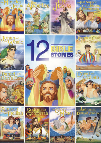 12 Bible Stories (Animated)(Value Movie Collection) DVD Movie