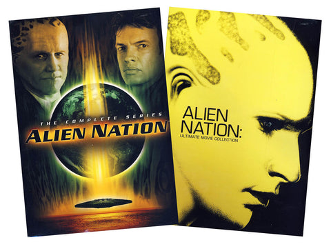 The Complete Alien Nation (TV Series & Ultimate Movie Collection) (Boxset) DVD Movie