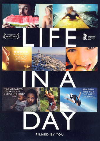 Life in a Day DVD Movie