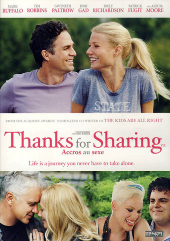 Thanks for Sharing (Bilingual) DVD Movie