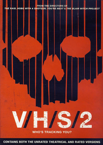 V/H/S/2 (Unrated Theatrical & Rated Versions) DVD Movie