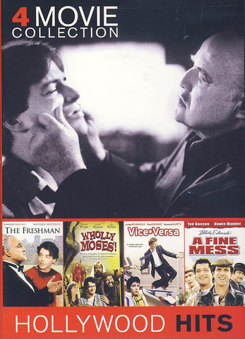 The Freshman / Wholly Moses / Vice Versa/ A Fine Mess (4 Movie Collection) DVD Movie