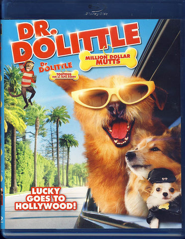 Dr. Dolittle:Million Dollar Mutts (Blu-ray) (Bilingual) BLU-RAY Movie