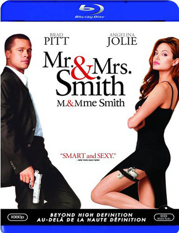 Mr. and Mrs. Smith (Blu-ray) (Bilingual) BLU-RAY Movie