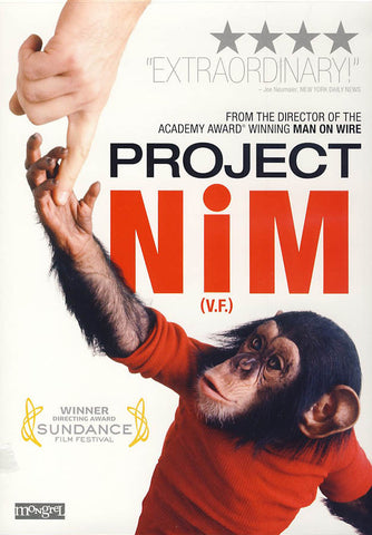 Project Nim (Bilingual) DVD Movie