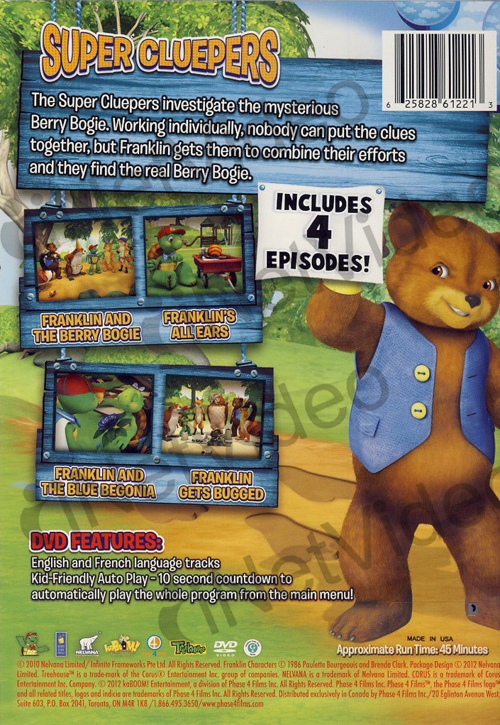 Franklin And Friends Dvd