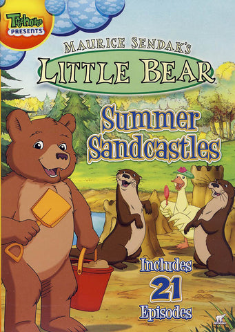 Little Bear - Summer Sandcastles DVD Movie