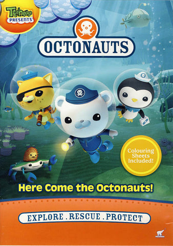 Octonauts - Here Come the Octonauts! DVD Movie