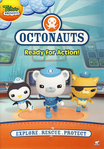 Octonauts - Ready for Action! DVD Movie