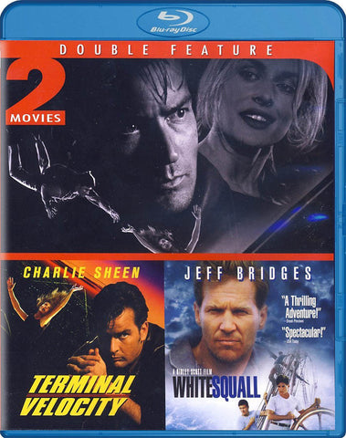 Terminal Velocity/White Squall (Double Feature) (Blu-ray) BLU-RAY Movie