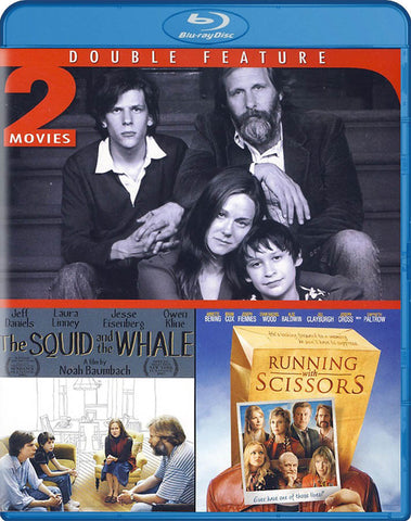 The Squid & The Whale/Running With Scissors (Double Feature)(Blu-ray) BLU-RAY Movie