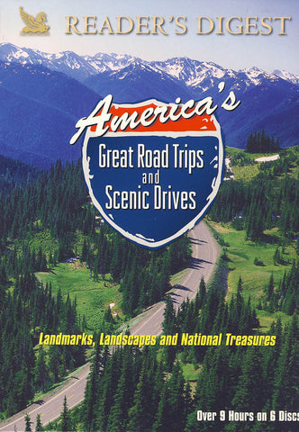 America's Great Road Trips and Scenic Drives (Boxset) DVD Movie