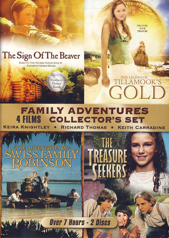 Family Adventures Collector's Set DVD Movie