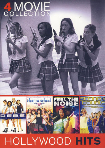 D.E.B.S./ Charm School/ Feel the Noise / Seeing Double (4 Movie Collection) DVD Movie