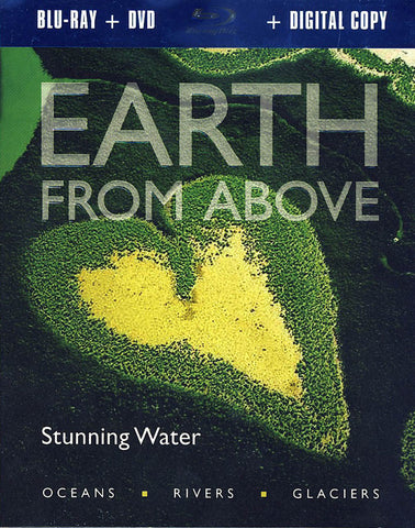 Earth From Above - Stunning Water (Blu-ray + DVD + Digital Copy) (Blu-ray) BLU-RAY Movie