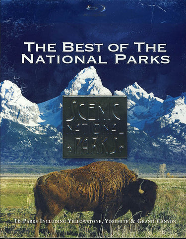 Scenic National Parks - The Best of the National Parks (Blu-ray) BLU-RAY Movie