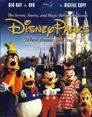 Disney Parks - The Secrets, Stories and Magic Behind the Scenes(Blu-ray, DVD, Digital Copy)(Blu-ray)