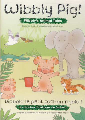 Wibbly Pig! - Wibbly s Animal Tales (Bilingual) DVD Movie