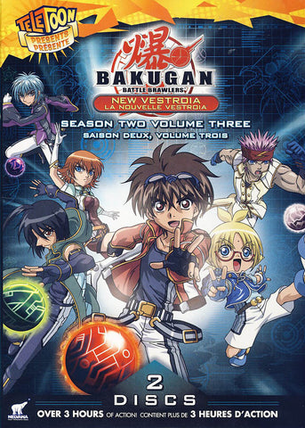 Bakugan Battle Brawlers - New Vestroia Season 2, Vol. 3 (Bilingual) DVD Movie